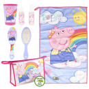 PEPPA PIG - travel set toiletbag, blue