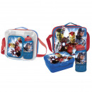 AVENGERS - lunch bag con accesorios, blue
