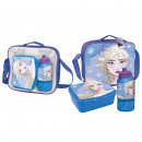 FROZEN - lunch bag con accesorios, blue