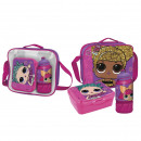 LOL - lunch bag con accesorios, fuchsia