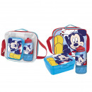 MICKEY - lunch bag con accesorios, blue