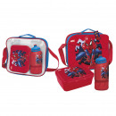 wholesale Bags & Travel accessories: SPIDERMAN - lunch bag con accesorios, red