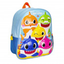 BABY SHARK - kids backpack 3d premium, blue