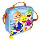 BABY SHARK - lunch bag 3d thermal lunchbag, blue