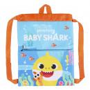 wholesale Gifts & Stationery: BABY SHARK - sakky bag backpack, blue
