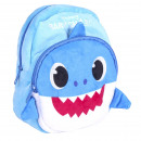 BABY SHARK - backpack kindergarten character, blue