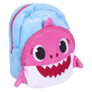 wholesale School Supplies: BABY SHARK BACKPACK BAG - 6 UNITS