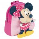 mayorista Material escolar: Minnie - mochila kindergarten con peluche, rosa
