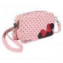 Minnie - kézitáska vállpánt műbőr, rózsaszín