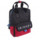 FRIENDS - backpack casual fashion, black