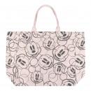 mayorista Salud y Cosmetica: Mickey - correas de bolso de algodón, beige