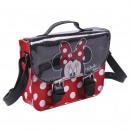 Minnie - Handtasche Schultergurt Kunstleder, rot