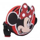 Minnie - bolso bandolera 3d, rojo