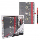 wholesale Gift Wrapping: FRIENDS - stationery set, gray