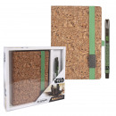wholesale Gift Wrapping: THE MANDALORIAN - stationery set the child, brown