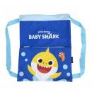 mayorista Artículos con licencia: BABY SHARK - mochila sakky bag, azul