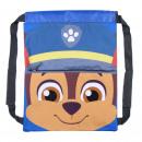 Großhandel Lizenzartikel: Paw Patrol - Sakky Bag Rucksack, blau