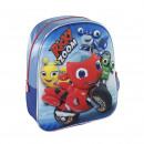 hurtownia Torby & artykuly podrozne: RICKY ZOOM - plecak dziecięcy 3d, niebieski