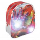 groothandel Licentie artikelen: 3D-LICHTEN RUGZAK VOOR KINDEREN Avengers - 1 EENHE