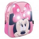 hurtownia Produkty licencyjne: Minnie - lampki do plecaków dla dzieci, różowe