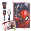 Großhandel Taschen & Reiseartikel: Spiderman - Reiseset Kulturbeutel, rot