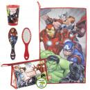 groothandel Tassen & reisartikelen: Avengers - reisset toilettas, rood