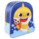 mayorista Regalos y papeleria: BABY SHARK - mochila para niños 3d, azul