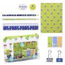mayorista Otro: PIXAR - set de papelería escolar, verde