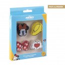 wholesale Licensed Products: MINNIE - eraser set of 4, multicolor
