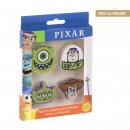 hurtownia Upominki & Artykuly papiernicze: PIXAR - zestaw 4 gumek, wielokolorowy
