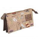 groothandel Licentie artikelen: HARRY POTTER - multifunctionele koffer plat 3 zak