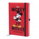 ingrosso Prodotti con Licenza (Licensing): Mickey - Notebook a 5, a5, rosso
