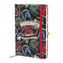 HARRY POTTER - Notebook a 5, a5, multicolore