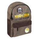 THE MANDALORIAN - mochila casual urban, dark gree