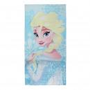 FROZEN - towel cotton , light blue
