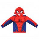 Spiderman - Hoodie, rot