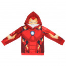 wholesale Licensed Products: AVENGERS - hoodie iron man, red