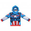 Avengers - Hoodie Capitan Avengers , blau