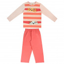 wholesale Sleepwear: PAW PATROL - long sleeve pijama cotton , pink