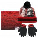 mayorista Bufandas, gorros & guantes: Star Wars - 3 piezas, rojo