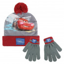 Großhandel Schals, Mützen & Handschuhe:SET 2 PIECES Cars 3