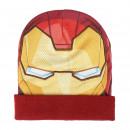 AVENGERS - hat mask iron man, red
