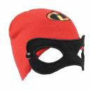 INCREDIBLES - hat mask, red