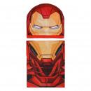 Großhandel Schals, Mützen & Handschuhe: Avengers - 2 Stück iron man , rot