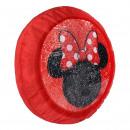 Großhandel Bettwäsche & Decken: Minnie - Kissen Premium, rot