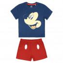 mayorista Artículos con licencia: Mickey - Short de algodón, azul marino