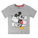 Mickey - T-Shirt manga corta premium, gris