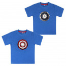 wholesale Licensed Products: AVENGERS - short sleeve t-shirt premium, navy