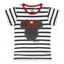 mayorista Ropa bebé y niños: Minnie - T-Shirt manga corta premium, negro