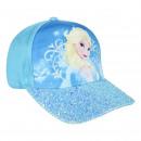 wholesale Scarves, Hats & Gloves: FROZEN - cap premium, 53 cm, sky blue